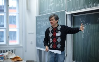 Professor Maxim Kontsevich, a Fields Medalist, lectured at our Faculty